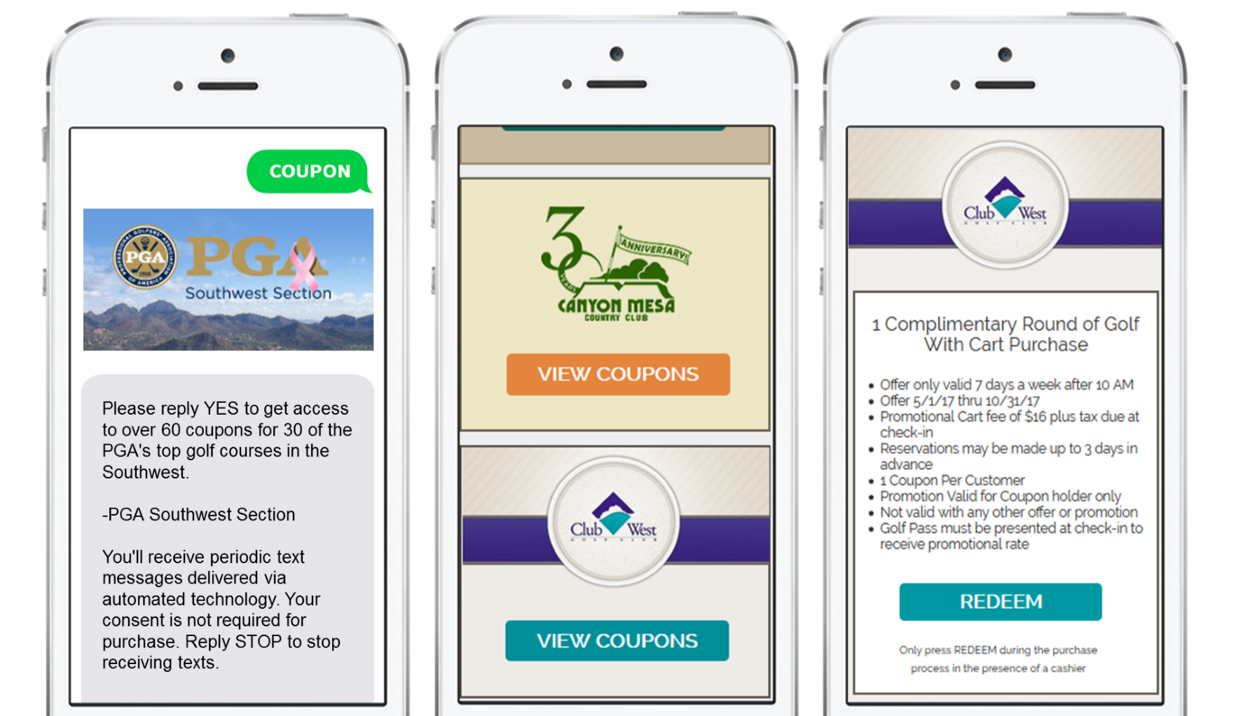 PGA drives sales with mobile coupons and MOBIT
