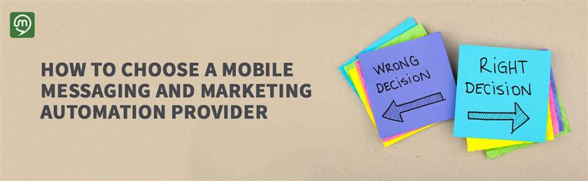 How To Choose a Mobile SMS Provider?