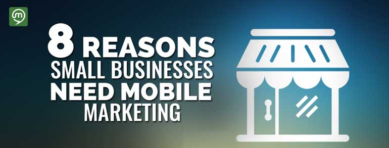 8 Reasons Your Small Business Needs Mobile Marketing